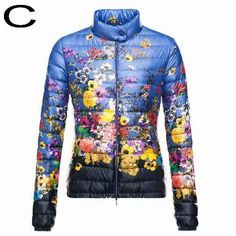 Moncler Women Alicia Lightweight Down Insulated Floral Jacket Sa