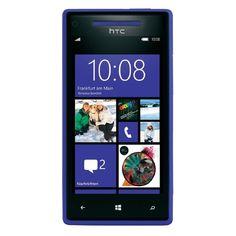HTC 8X 16GB Verizon / Unlocked GSM LTE Certified Refurbished Cell Phone #6990L BLUE CRB