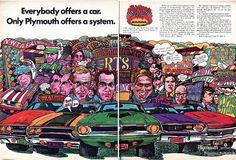 1970 Plymouth GTX Cuda Fury Duster Roadrunner Advertising Hot Rod Magazine November 1969 | Flickr - Photo Sharing!