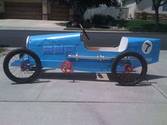 Bugatti Type 35 Pedal Car | Our home built Bugatti inspired … | Flickr