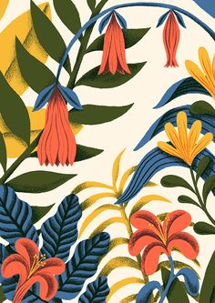 Botanica on Behance