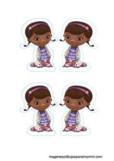 Imprimir y decorar cupcakes con doctora juguetes Doc Mcstuffins Birthday Party, 4th Birthday Parties, 3rd Birthday, Meme Party, Doctor Party, Kids Party Themes, Fiesta Party, Disney Junior, Toys