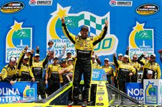 2016 Camping World Truck Series winners:   Friday, May 13, 2016  -   6. Matt Crafton (second win), NC Education Lottery 200 (at Charlotte).