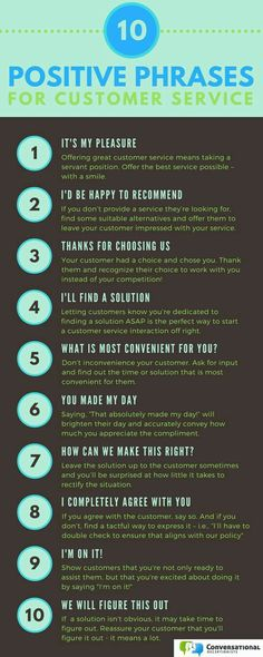 Positive Language Makes All The Difference In Customer Service 10 Phrases To Use