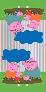 Peppa Pig: Free Printable Invitations and Party Printables.