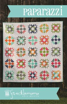 Paparazzi Quilt pattern $9.95 on Craftsy at http://www.craftsy.com/pattern/quilting/home-decor/paparazzi/68718