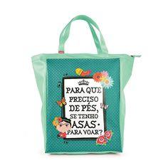 Bolsa Sacola Frida Kahlo (Book Bag) - Mimeria | Mimos e Presentes Fofos
