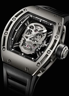 RICHARD MILLE tourbillon rm 052 skull