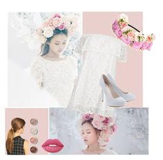 """Lee Hi - Rose"" by kookiesantana on Polyvore featuring River Island, Lipsy, Ficcare, Terre Mère, Lime Crime, kpop, leehi and ygfamily"