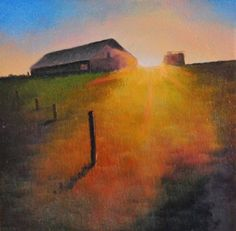 'DAYBREAK, painting by artist Gerald Schwartz