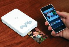 Portable Photo Printer @ Sharper Image