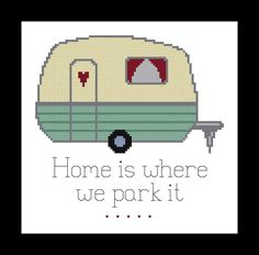 Home Cross Stitch Pattern  PDF File  Instant by threadsandthings1