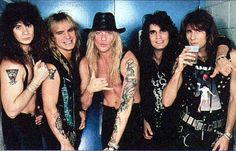 Jani Warrant Jerry Dixon and Joey