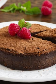 Flourless Chocolate Cake Recipe