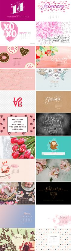 // February 2016 Wallpapers Round-up_Svetlana Bilenkina