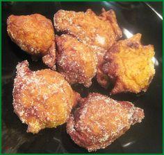 Beignets Portugais sucrés au potiron et à la cannelle (filhoses de abobora). Très appréciés au moment de Noël.