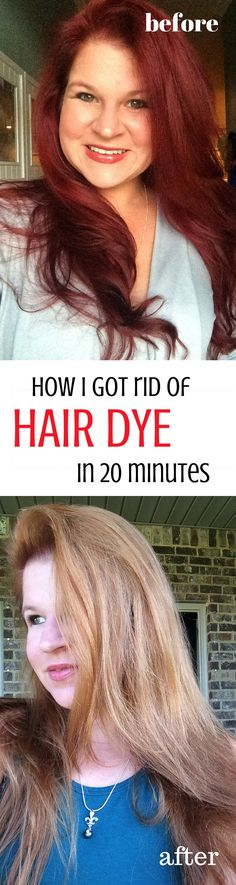 How I got rid of hair dye in 20 minutes, what I used that DIDNT fry my hair and took out a huge color mistake to restore my dignity