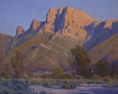 Golden Crest    16x20 inches, oil    by John Budicin