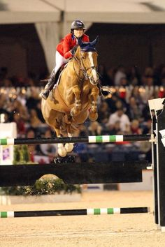 Reed Kessler and Cylana, 18 year old Olympian. The youngest person to ever compete in the Olympics in show jumping.