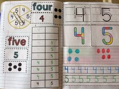 Kinder Interactive Math Journals huge FREEBIE!