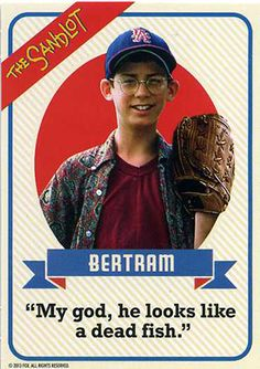 The Sandlot Anniversary Blu-ray Includes Set of Baseball Cards - Baseball Photos Sandlot 2, Sandlot Benny, Sandlot Quotes, Movie Quotes, Sandlot Forever, Baseball Game Outfits, Baseball Movies, Baseball Quotes, Baseball Pictures