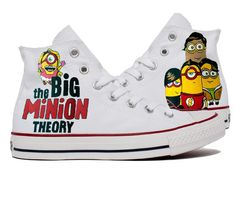 Minion Hi Top Tennis Shoes