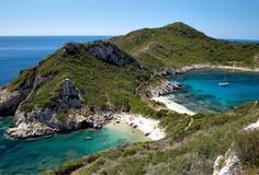 Cape Arilla, Corfu Island (source) Corfu Porto Timoni, Corfu Ionian Se
