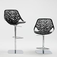 Discus Fixed Height Stool, with solid or transparent seat. | B2H ...