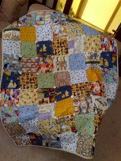 Quilt i made using all cat fabric.. I love Cats!