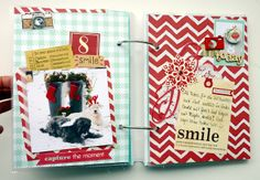 Bits & Pieces: *December Daily Tage 8-10* love the color combinations in this DD, but especially like these two pages.