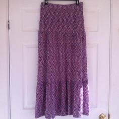 Trina Turk - Purple Long Skirt Excellent condition. It is 40 inches long.  Make an offer and no trade. Trina Turk Dresses