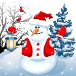 Snowman by KmyGraphic.deviantart.com on @DeviantArt