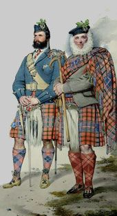 Chief Lachlan MacLean, notice the lovely salmon buttons ...