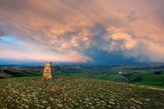 View from Mam Tor - Artist Unknown