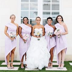 """""""The beautiful Alda + her bridemaids! [Bridemaids dresses by @beinawei / wedding gown by @violettabridal] #wedding #love #erinandtara"""" Photo taken by @erinandtara on Instagram, pinned via the InstaPin iOS App! http://www.instapinapp.com (07/18/2015)"""