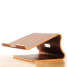 You can now give your wrists and hands a big time rest from continuous typing on laptops by usying this elegant #wooden cooling #laptopstand!