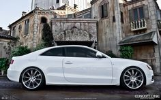 I suppose my imaginary houses need cars to go along with them.  Here's a nice one.  Audi A5