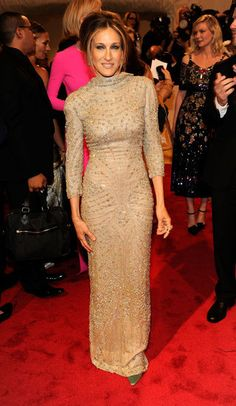 Sara Jessica Parker in Alexander McQueen at the Met Gala, 2011