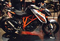 KTM 1290 Superduke R powerparts bike at EICMA | DERESTRICTED