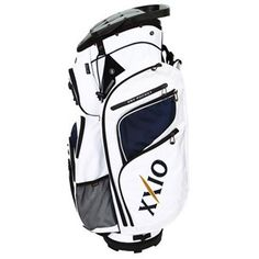 XXiO Golf Cart Bag A refined combination of luxury and high performance designed to make you the envy of the clubhouse.XXIOs stunning designs deliver many practical features to make your game a more enjoyable experience http://www.MightGet.com/january-2017-11/xxio-golf-cart-bag.asp