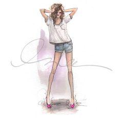 http://sandroka-eamigasnamoda.blogspot.com.br/: As ilustrações de Inslee Haynes!!!