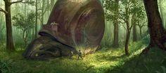 In the forest by babzz.deviantart.com on @deviantART