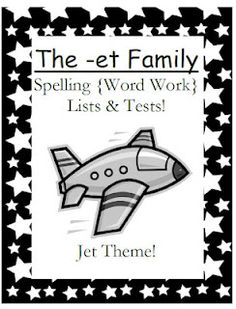 Simply Centers: Fern Smith's The -et Family Spelling Lists & Tests $0