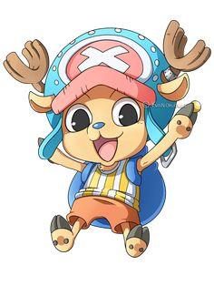 One Piece: Chopper Chibi by Kanokawa.deviantart.com on @deviantART