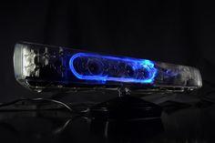 Tunea y personaliza tu Kinect con esta carcasa transparente. Encuentrala en www.tientagael.es