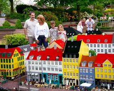 The Legoland theme park is the main tourist attraction in the small town of Billund, Denmark.