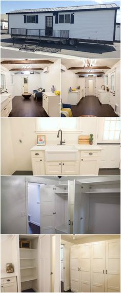 Simple and Elegant 380 Square Foot Tiny House by A…
