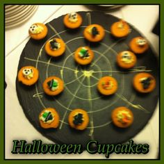 Some Halloween cupcakes which Pat created for our Halloween corporate night Halloween Cupcakes, Halloween Birthday, Birthday Parties, Spider Cupcakes, Dublin, Fruit, Night, Party, Kitchen