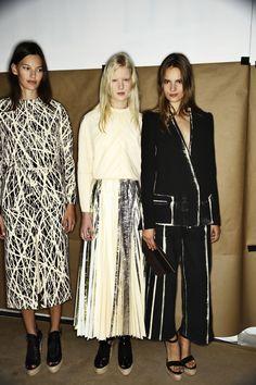 Proenza Schouler SS14 Fashion Show New York Backstage | Sonny Vandevelde