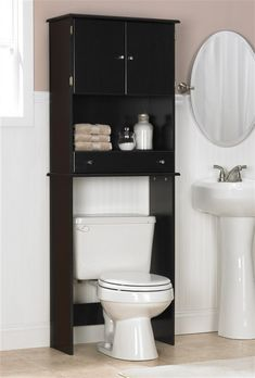 8 cool bathroom storage cabinets above toilet image ideas - Bathroom Cabinets That Fit Over The Toilet